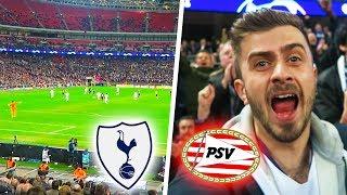 "TOTTENHAM vs PSV 2-1 ""CHAMPIONS LEAGUE DREAM IS STILL ALIVE!!"" | ACHILLEA FAN EXPERIENCE"