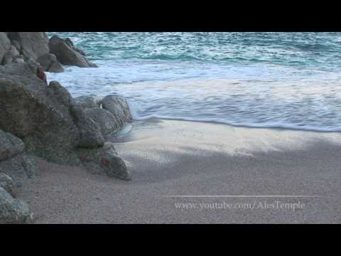 Sounds Of Atlantic Ocean - Relaxation Video - A Coruna Beach
