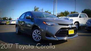 2017 Toyota Corolla LE 1.8 L 4--Cylinder Review