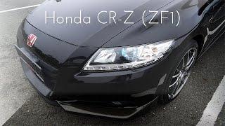 Обзор Honda CR-Z (ZF1) | Заряженная пушка-гонка на МЕХАНИКЕ! Что внутри? 😱 cмотреть видео онлайн бесплатно в высоком качестве - HDVIDEO