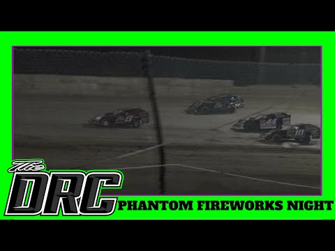 Moler Raceway Park | 7/6/18 | Phantom Fireworks Night | Matt's Graphics UMP Modified Feature