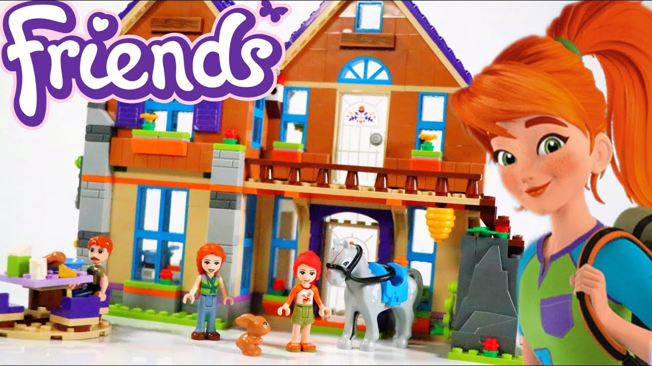 Lego Friends Mias House 2019 Building Review 41369 Youtube