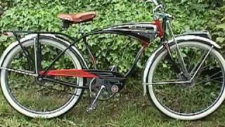 VINTAGE Schwinn heavy weight bicycle slide show