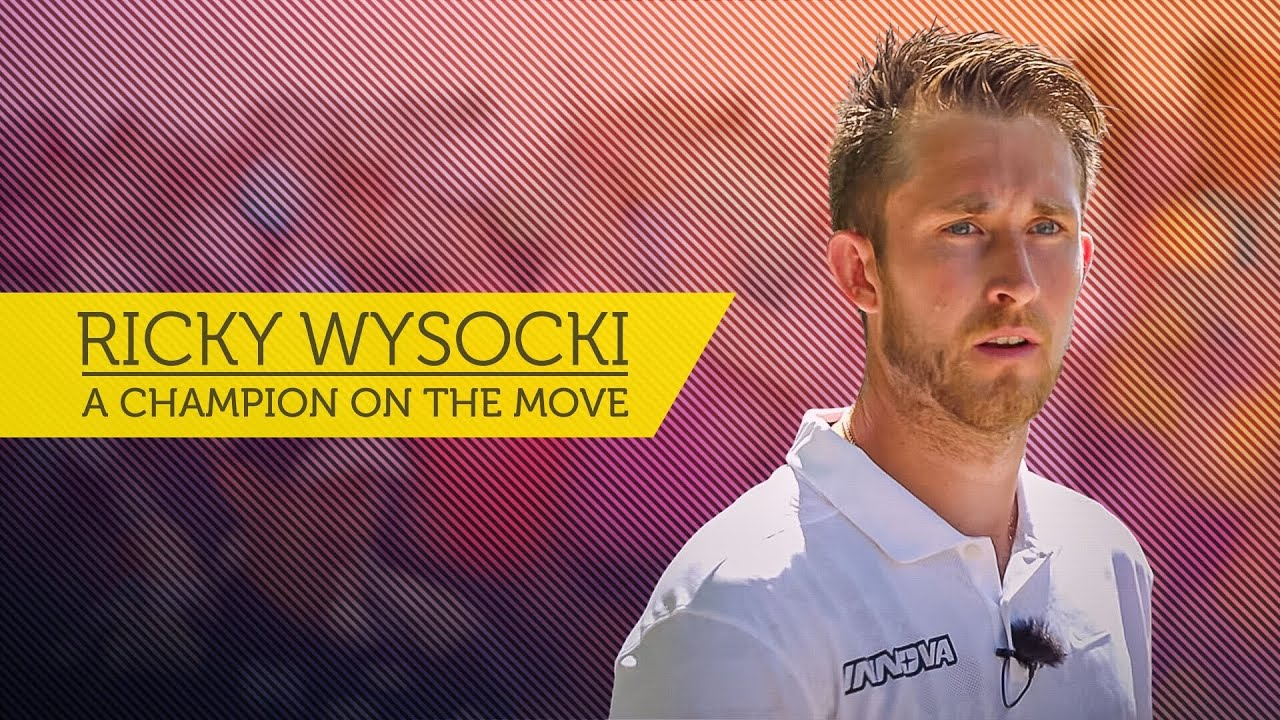 Ricky Wysocki, a Champion on the Move
