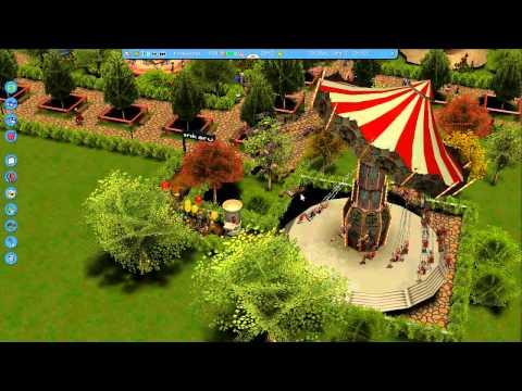 Let´s Bau einen RCT3 Park #006 Tropical Island 1/2
