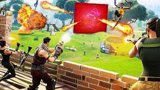 PLAYERS vs THE CUBE for Season 5 Final Battle in Fortnite... | Chaos