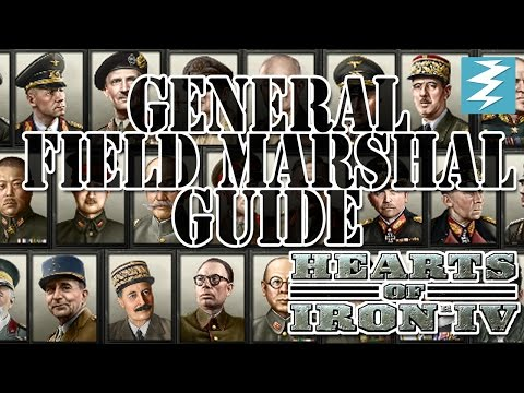 General/Field Marshal Tutorial + Ethiopia Exploit Hearts of Iron IV HOI4 Paradox Interactive