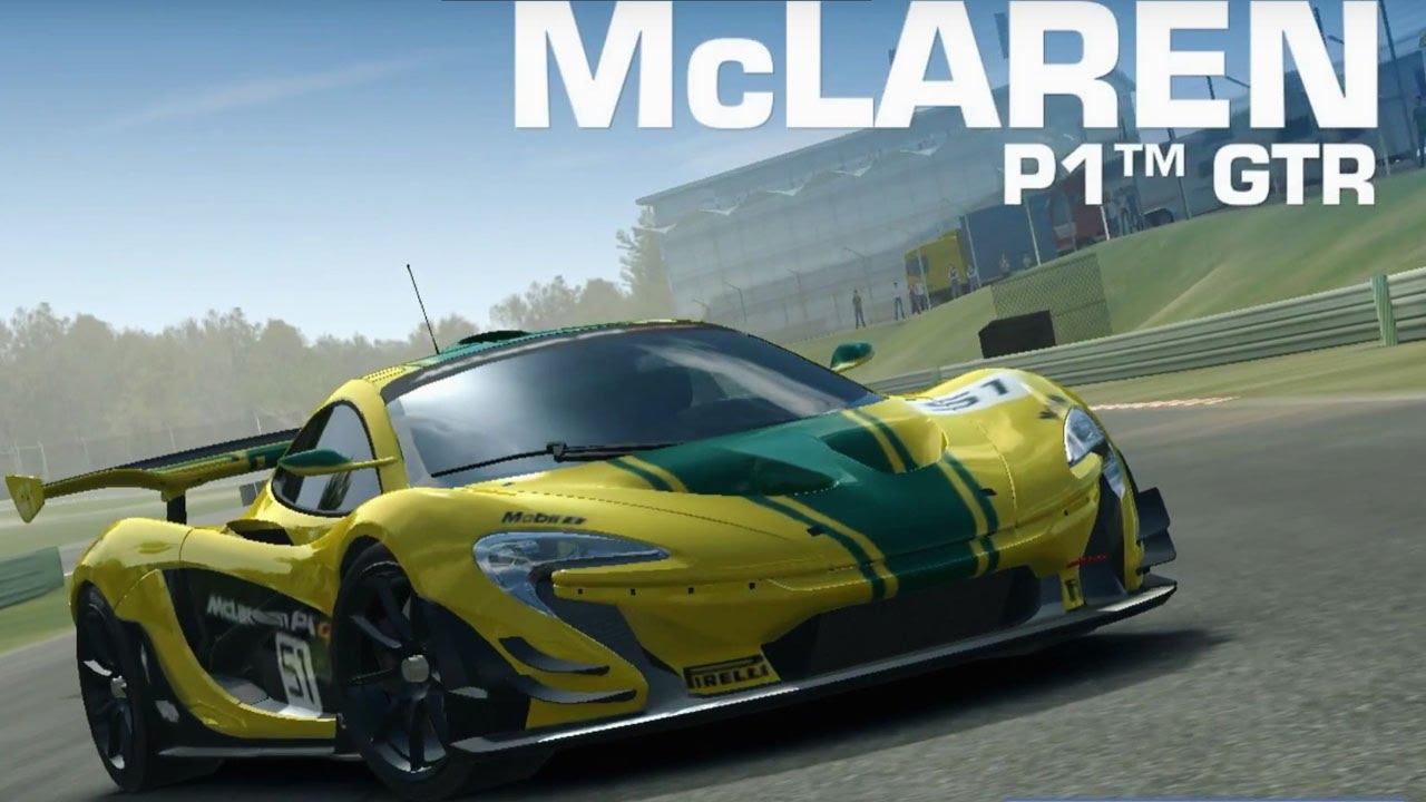 real racing 3 mclaren p1 gtr - rr3 ios android gameplay - youtube