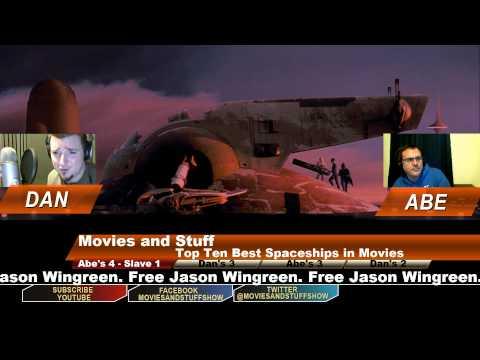 Top 10 Best Spaceships in Movies.