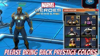 Marvel Heroes Omega - Dear Gazillion, Please Bring Back Prestige Name Colors. Badges SUCK.