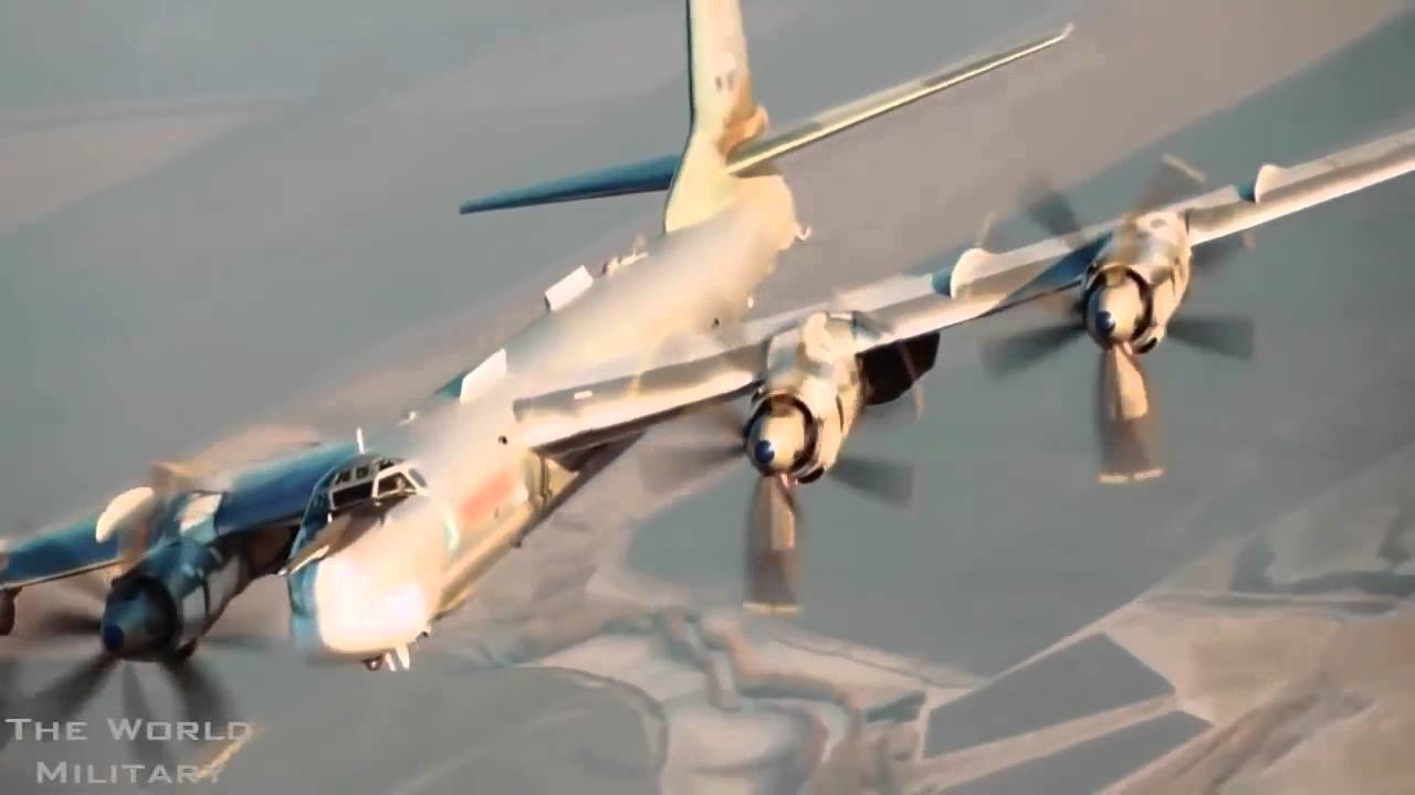 Russian Bomber Tupolev Tu 95 Bear Nightmare Us Youtube