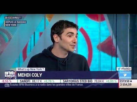 Mazen SEO Software. Interview de Mehdi Coly, CEO sur BFM