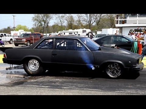Murdered Out Blown Alcohol Injected 79 Malibu At Byron
