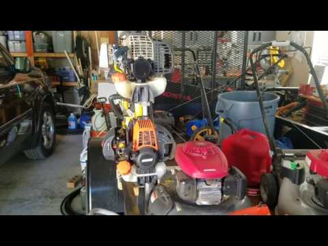 SRM-230 is running and how to adjust an Echo Carburetor