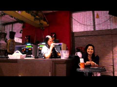 V the DJ in a Karaoke Bar in San Diego, California