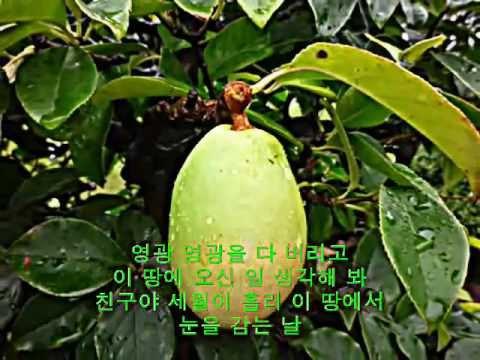 친구야 김성수 목사