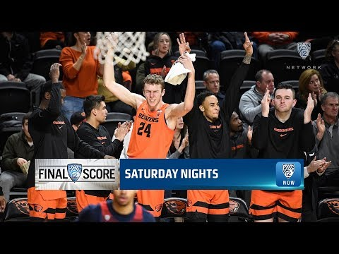 Oregon State Beavers - Beavers soar past #24 Arizona 82-65!