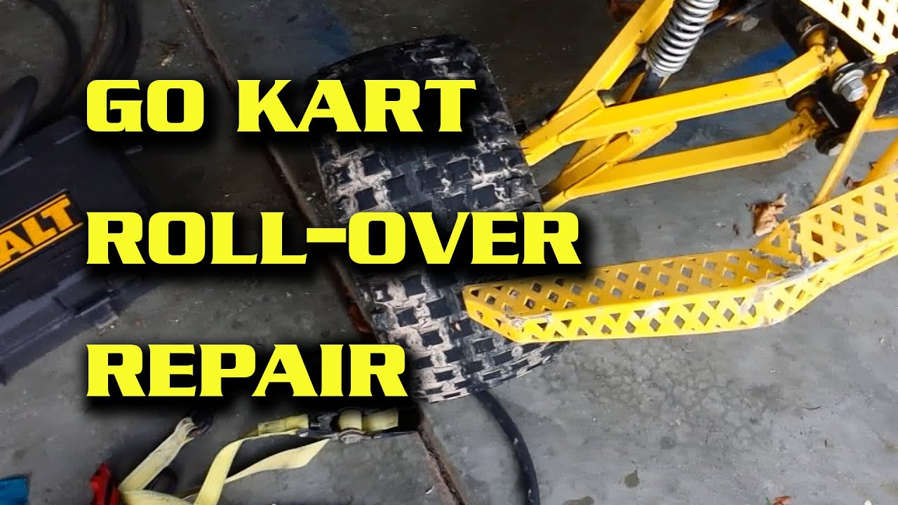 Go Kart Service : Go kart repair after getting rolled youtube