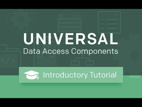Universal Data Access Components (UniDAC) for Delphi