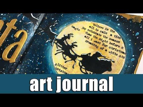 Art journal | Dear Santa ...