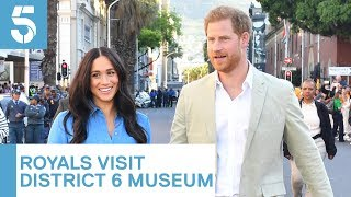 Meghan Markle and Prince Harry visit District Six museum | 5 News
