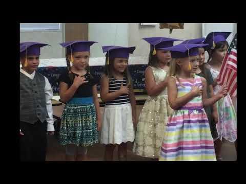Rachel's Pre-K Graduation at Venice Christian School 6.2.17