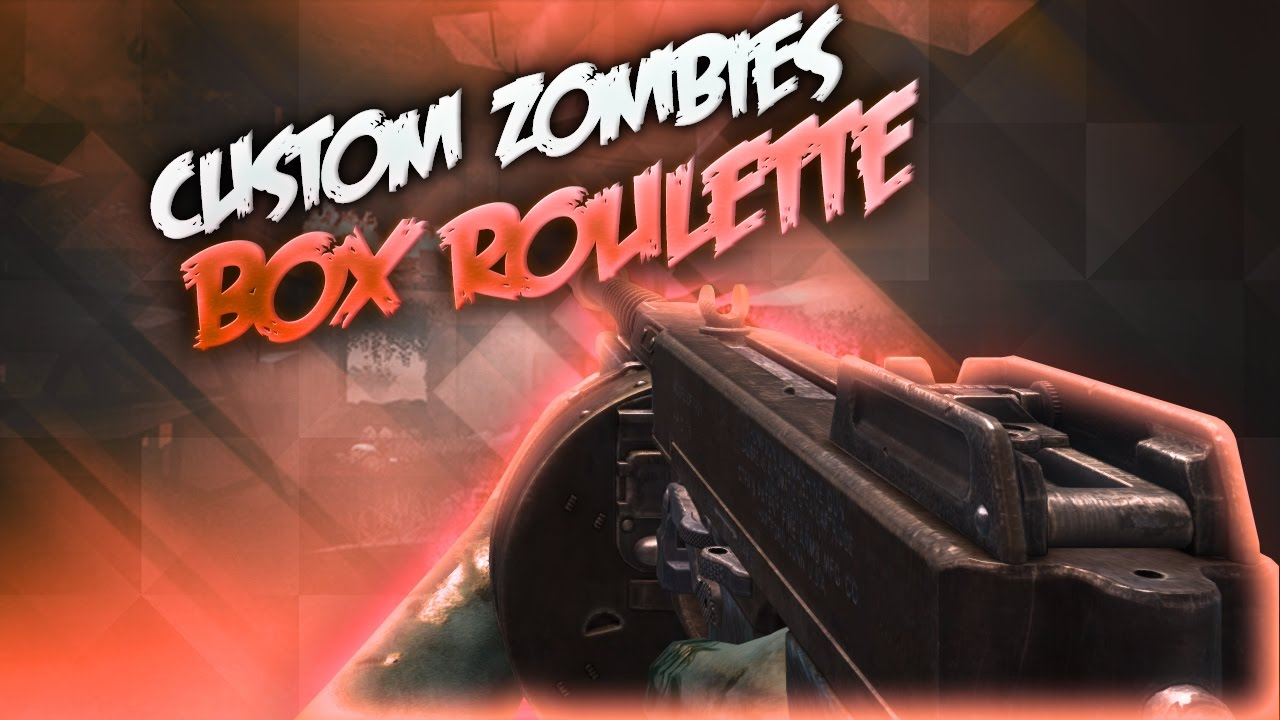 Fuse Box Zombies Black Ops : Black ops custom zombies box roulette challenge w