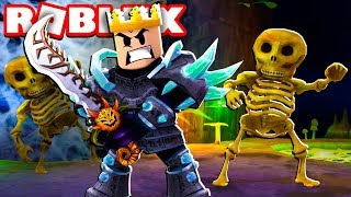 TRAINING TO BECOME THE WORLDS STRONGEST WARRIOR | Roblox - Dungeon Quest