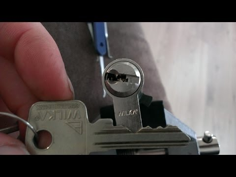 WILKA 6 pin Euro Picked open SPP