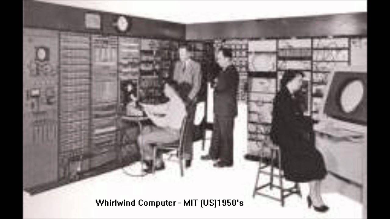 Having your computer delivered in the 1950s : pics
