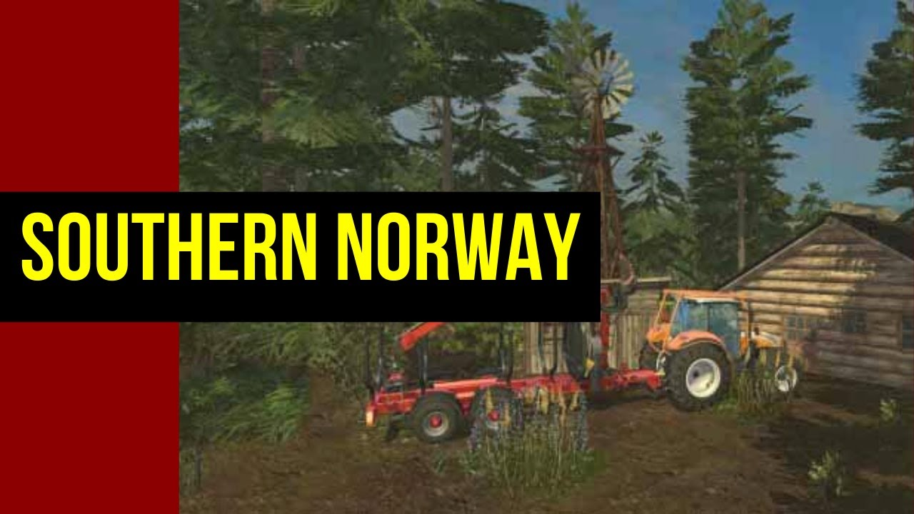 Farming Simulator SOUTHERN NORWAY YouTube - Norway map farming simulator 2015