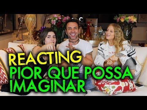 """LUISA SONZA E GKAY REACTING: REAGINDO AO  """"PIOR QUE POSSA IMAGINAR""""   MatheusMazzafera"""