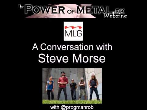 A Conversation with legendary guitarist Steve Morse (audio only)