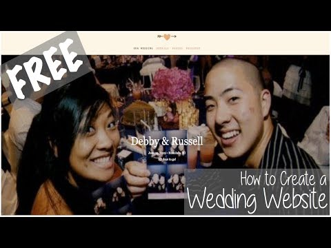 Ep. 1 - How to Create a FREE Wedding Website
