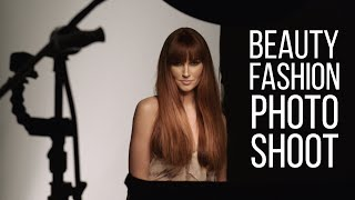 Fashion Beauty Photo Shoot in NYC Studio (BTS)