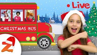 Jingle Bells & more Christmas Songs for Kids ☃️ Christmas Nursery Rhymes by #ZouzouniaTV
