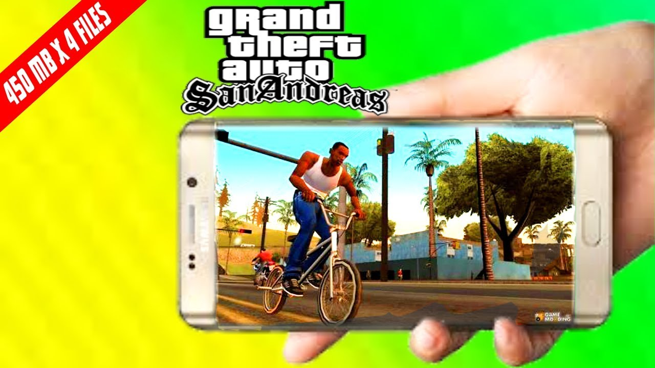GTA San Andreas APK + OBB Free Download 2.00 For Android