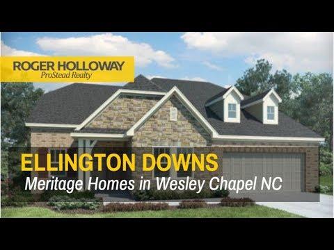 Ellington Downs Wesley Chapel NC Homes for Sale - Meritage