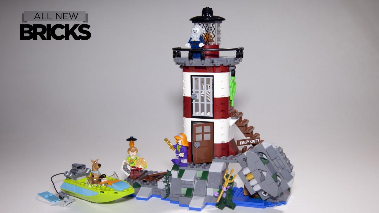 Build Haunted 75903 Speed Lego Scooby Lighthouse Doo Youtube 5cqLRj34AS