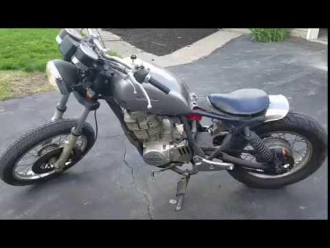1980 Suzuki Gn400 Bobber Rat Bike Youtube