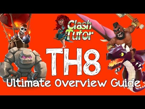 Clash of Clans TH8 General Overview Strategy Guide