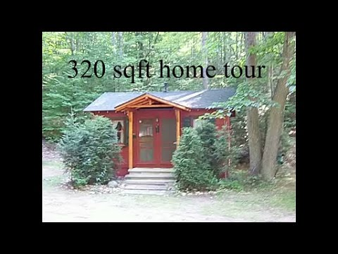 A 320 Sq Ft Tiny Home Tour Youtube
