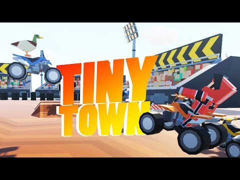 Tiny Town VR - Best City Building Game Ever! - Tiny Town VR Gameplay - HTC Vive VR