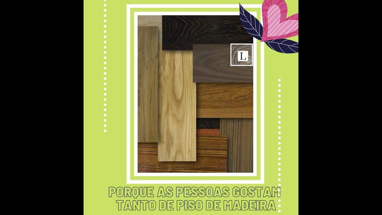 Porque as pessoas gostam tanto de piso de madeira !!!!