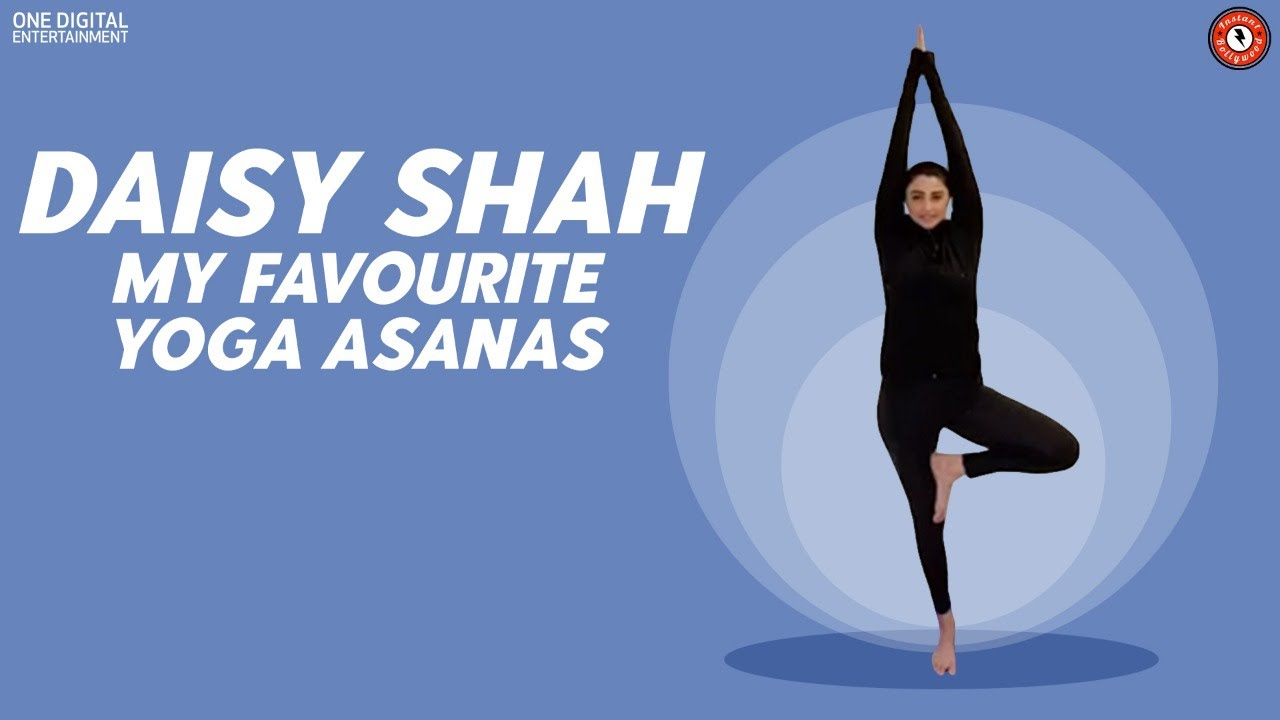 Daisy Shah Shows Her Favourite Yoga Pose   International Yoga Day   My Favourite Yoga Pose
