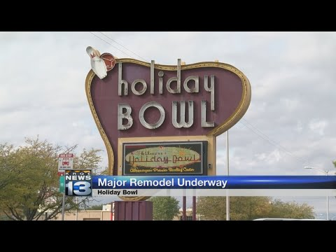 Renovations begin to transform 'Holiday Bowl' into entertainment center