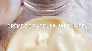 Crème anti âge secret des japonaises Base Au thé blanc