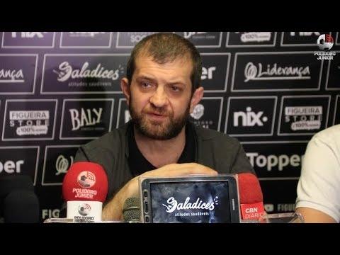Presidente do Figueirense fala sobre a saída do técnico Milton Cruz - 10/09/2018