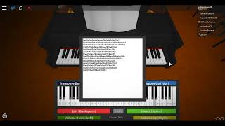 Dangerous Woman Virtual Piano Roblox 2018 Intermediate