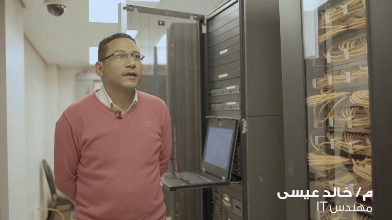 مؤسسة مجدي يعقوب | خالد عيسى مهندس IT في المؤسسة | MYF